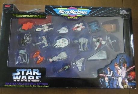 Micro Machines Star Wars Limited Edition Master Collectors Vehicles (Pack of 19)