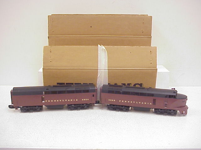 Williams 4400 Brass Pennsylvania Sharknose AB Diesel Locomotive Set