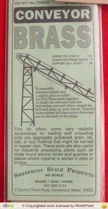 Sheepscot Scale Products 75002 Materials Conveyor