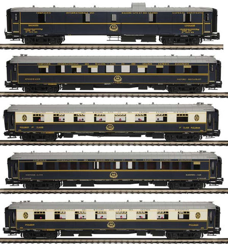 MTH 20-60004-2 Orient Express 5-Car Pass. Set (2-Rail)