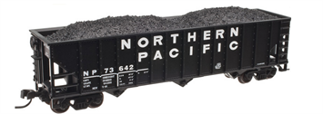 Atlas 50002013 N Northern Pacific 90-Ton Triple Hopper #73666
