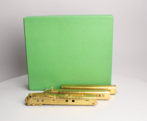 "Overland M-10000 HO Scale Brass Union Pacific ""City of Salina"" 3 Car Set"