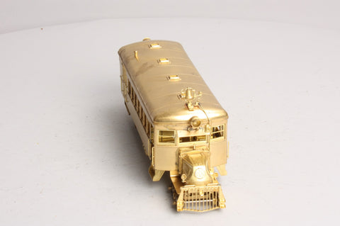 Precision Scale Co. 15035 O Scale Brass Type ACX Mack Railbus - 2 Rail