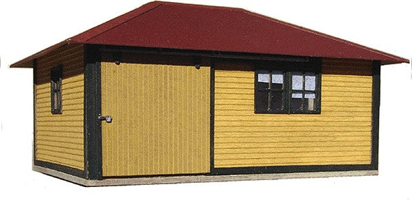 American Model Builders 174 Laser Art Material House One Motor Car HO Scale Kit
