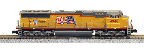 American Z-Line 6104-2 Z Union Pacific SD70M Powered Diesel Locomotive #4952
