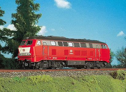 Brawa 392 HO DB Era IV Diesel Locomotive #216 095-0