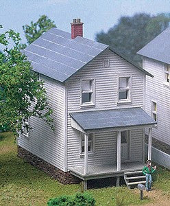 City Classics 111 Railroad St Company House Kit HO