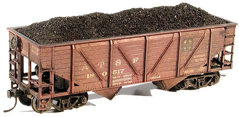 Chooch Enterprises 7057 HO Coal Load for Athearn 34' Hoppers 2-Piece Set