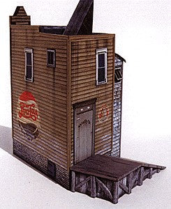 Clever Models 1013 N The Mercantile with Ramp Paper Building Kit