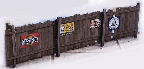 "Clever Models 1021 N 30"" Plank Board Fence Paoer Building Kit"