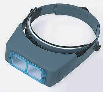 "Donegan Optical Company DA-5 OptiVisor Headband Magnifier (2-1/2X at 8"")"