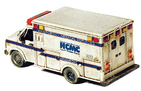 GHQ 51012 N Scale Ambulance Kit