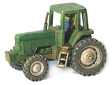 GHQ 54007 N 1:160 Farm Tractor JD-7800 Pewter Unpainted Kit