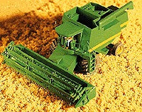 GHQ 54009 N 1:160 JD 9500 Wheat Combine