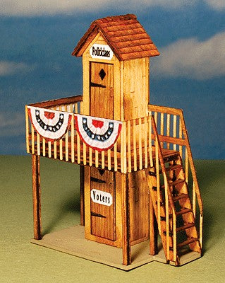GCLaser 1282 HO 2 Story Outhouse Laser Cut Kit
