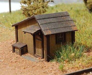 GCLaser 201  N Scale Tool Shed Building Kit