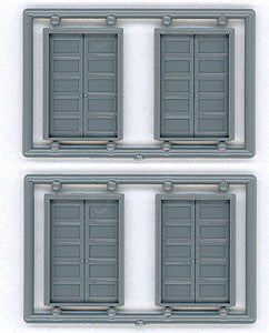 "Tichy 8124 HO 54"" x 80"" 5-Panel Double Doors (4)"