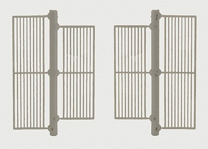 Grandt Line 5296 HO Detail Part Iron Bar Railing Set
