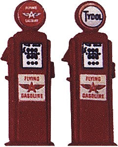 JL Innovative Design 589 HO Flying A Deluxe Custom Gas Pump (Pack of 2)