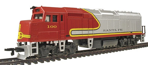 Life Like 8240 HO Santa Fe EMD F40PH Powered Diesel Locomotive