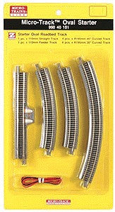 MicroTrains 99040101 Z 12-Piece Micro-Track Starter Oval Set