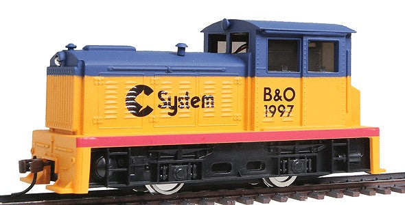 Model Power 96678 HO Chessie System DDT Plymouth Diesel Locomotive