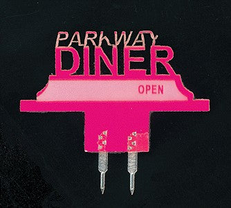 Miller Engineering 2803 Horizontal Sign Lighting Kits Parkway Diner - Small