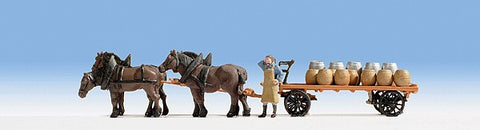 Noch 16701 1:87 Brewery Carriage/4 Horses