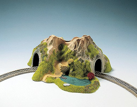 Noch 34660 N Curved w/Lake Single Track Tunnel