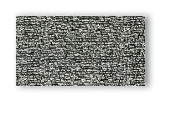 "Noch 58250 HO 9-1/2"" x 5-1/4"" Quarry Stone Wall Section"