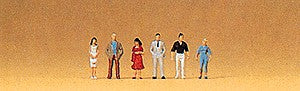 Preiser 88516 Z Pedestrian Passers-By Figures (Set of 6)