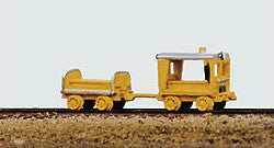 Railway Express Miniatures 2001 N MOW Vehicles Heavy Duty Speeder and Crew Car