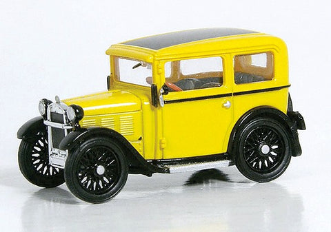Ricko 38299 1:87 HO 1929 BMW Dixie Yellow