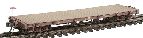 Blackstone Models 340311W HOn3 Rio Grande Southern 6000 Series 30' Flat Car - Weathered