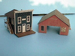 Alpine Division Scale Models 572 Old town lodgings 2/