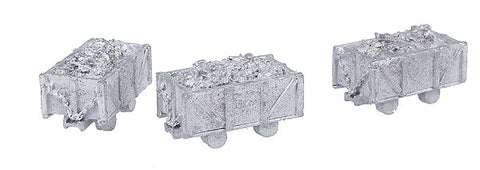 "The N Scale Architect 20013 N 4-Ton Mine Cars ""Pack of 3"""