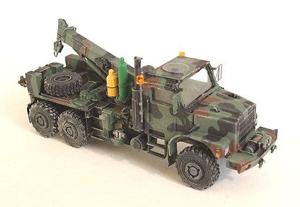 Trident Miniatures 87098 HO US Marine Corps Medium Trucks MTVR Mk26 6x6 Wrecker (Resin Kit)