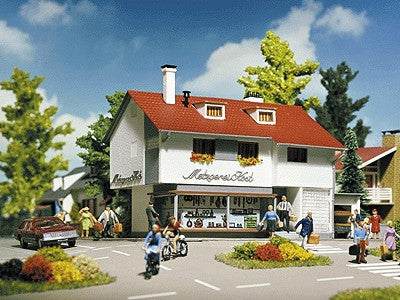 Vollmer 3722 HO Butcher Shop Building Kit
