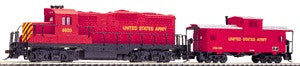 Walthers 931-701 US Army Diesel Locomotive & Caboose