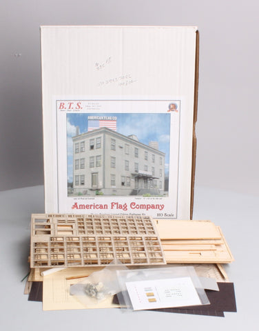 BTS 28108 HO Scale American Flag Co. Building Kit
