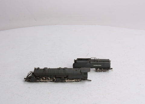 Rivarossi N Scale California Pacific 2-8-8-0 Steam Locomotive and Tender