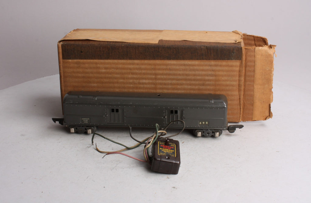 American Flyer 490 S Scale American Flyer Lines Baggage Car w/ Whistle