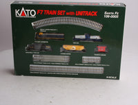 Kato 106-0005 N Scale Santa Fe F-7 Train Set w/Unitrack