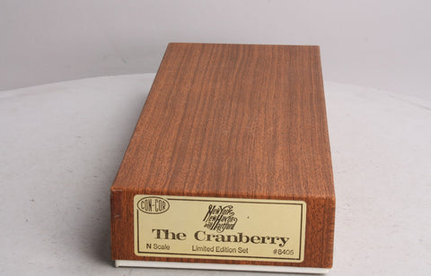 "Con-Cor 8405 N Scale New Haven ""The Cranberry"" Limited Edition Set LN/Box"