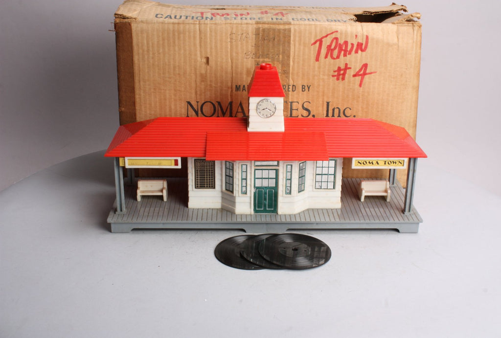 Noma 450 Vintage O Electronic Announcing RR Station