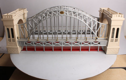 Lionel 300 Standard Gauge Tinplate Hellgate Bridge - Ivory/Red