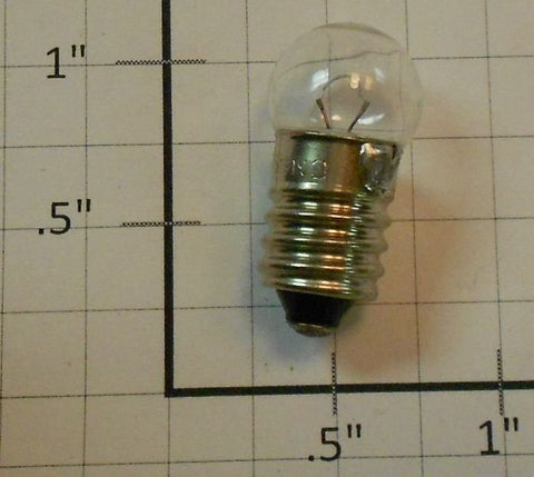 Lionel 50 6 Volt Clear Small Screw Bulb (2)