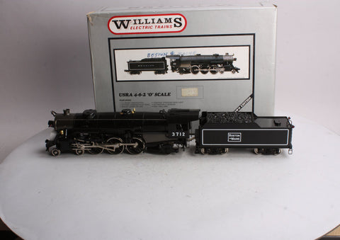 Williams 6012 Brass O Scale 2-Rail Boston & Maine 4-6-2 Steam Loco & Tender