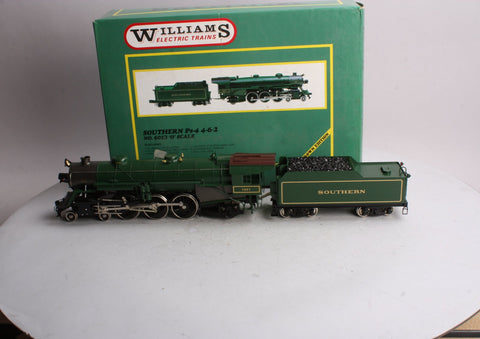 Williams 6013 O Scale 2-Rail Brass Southern 4-6-2 Steam Locomotive & Tender