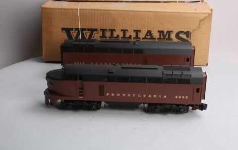 Williams 4953 O Pennsylvania Sharknose Brass AB Diesel Set
